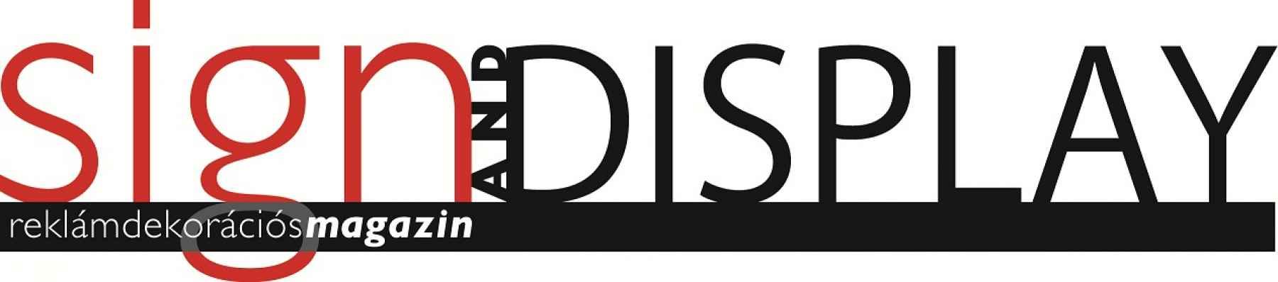 Sign & Display Magazin logója